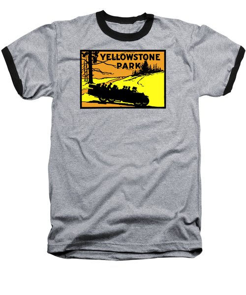 1920 Yellowstone Park Baseball T-Shirt