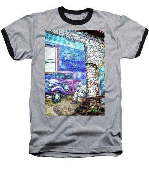 1920's Jazz Era Mural #6 Baseball T-Shirt