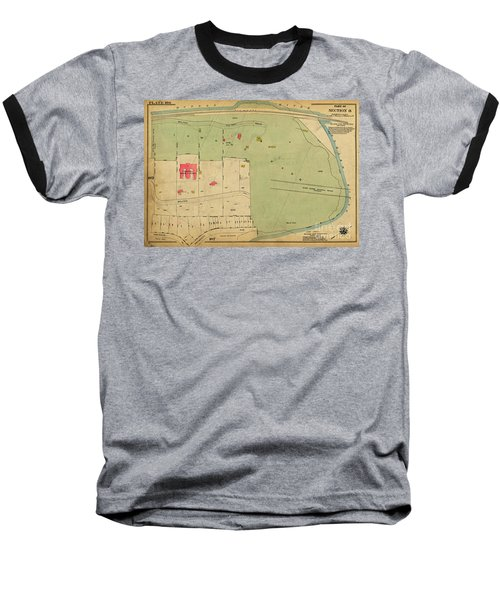 Baseball T-Shirt featuring the photograph 1923 Inwood Hill Map  by Cole Thompson