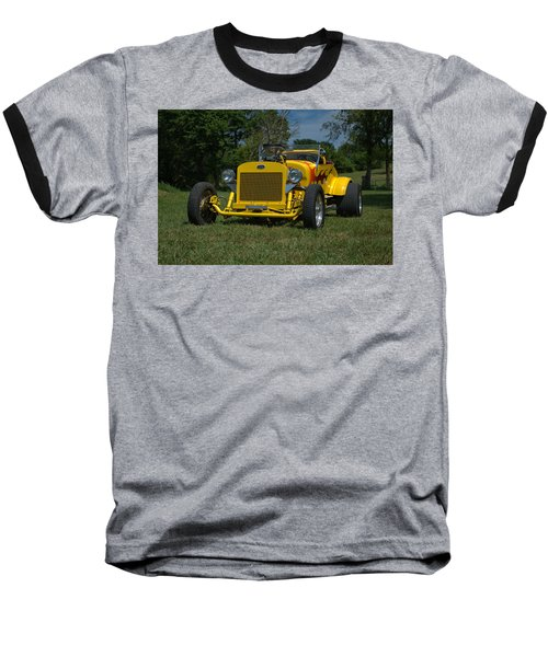 1928 Ford Bucket T Hot Rod Baseball T-Shirt