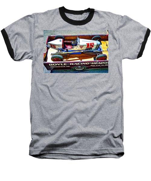1927 Miller 91 Rear Drive Racing Car Baseball T-Shirt by Josh Williams