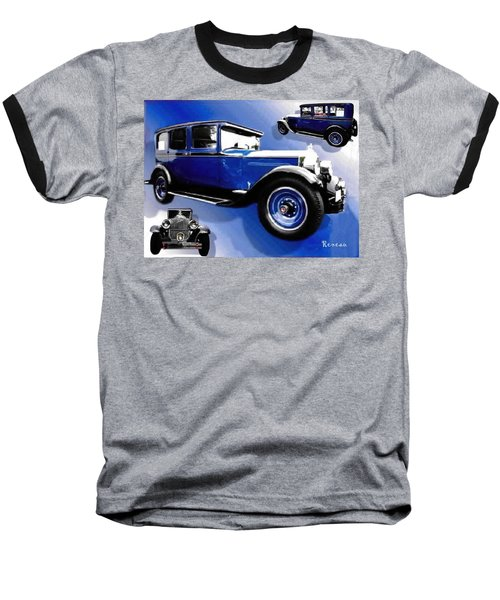 Baseball T-Shirt featuring the photograph 1927 Packard 526 Sedan by Sadie Reneau
