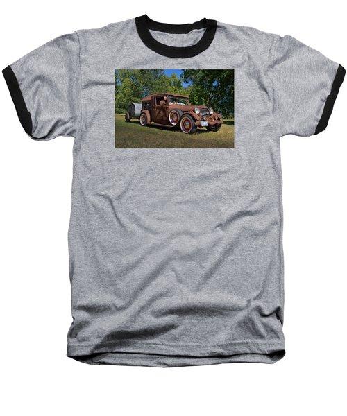 1928 Oldsmobile Camper Special Baseball T-Shirt