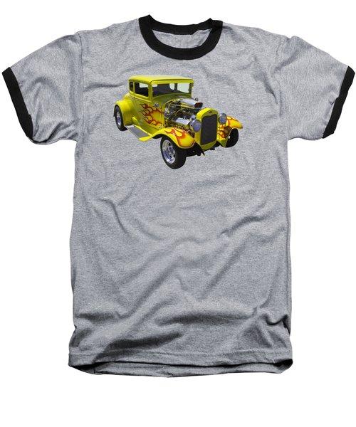 1930 Model A Custom Hot Rod Baseball T-Shirt