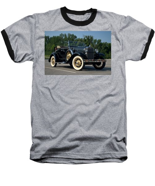 1931 Ford Model A Roadster Baseball T-Shirt by Tim McCullough