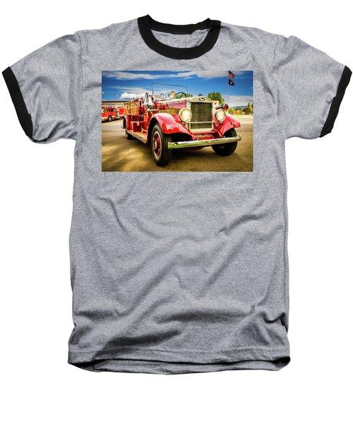 1931 Mack - Heber Valley Fire Dept. Baseball T-Shirt