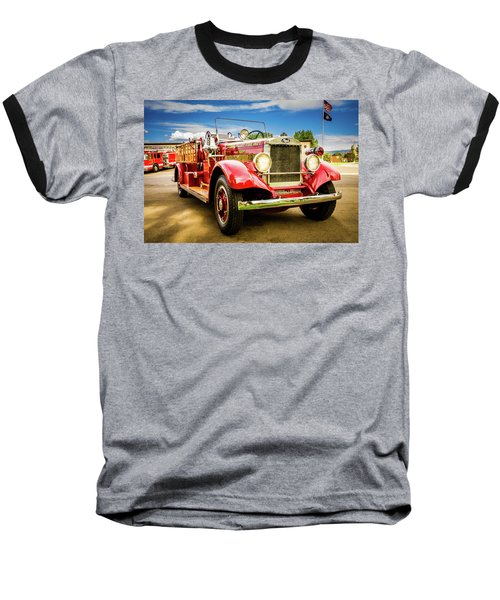 1931 Mack - Heber Valley Fire Dept. Baseball T-Shirt