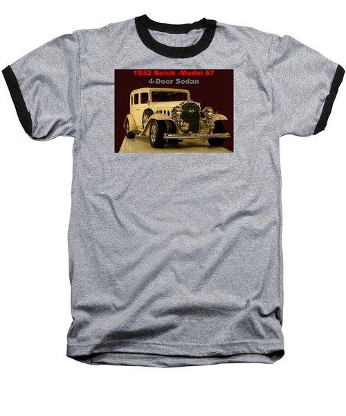 1932 Buick 4door Sedan Baseball T-Shirt