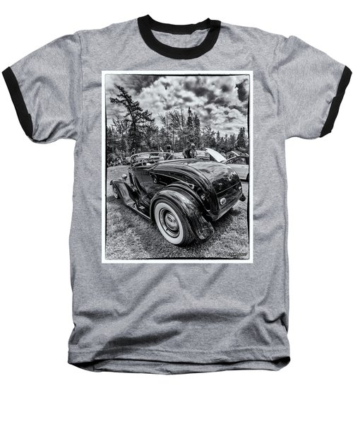 1932 Ford Deuce Roadster Hot Rod Baseball T-Shirt