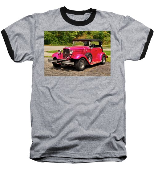 1932 Street Rod 001 Baseball T-Shirt by George Bostian