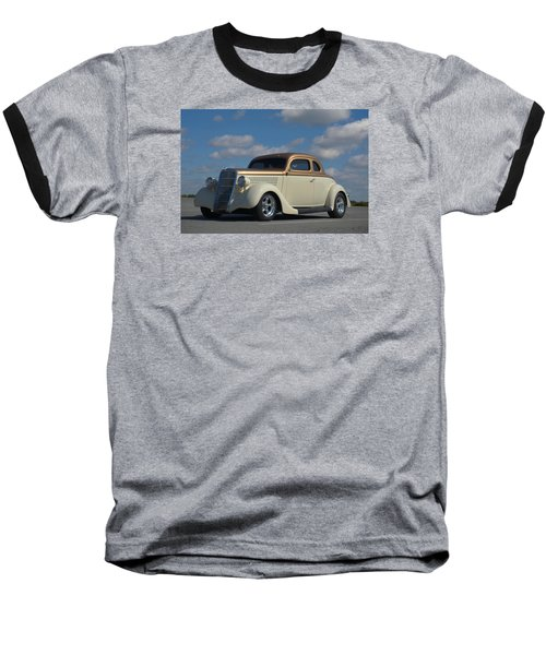 1935 Ford Coupe Hot Rod Baseball T-Shirt by Tim McCullough