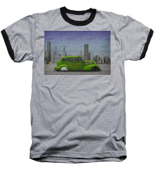 1936 Buick  Baseball T-Shirt by Ken Morris