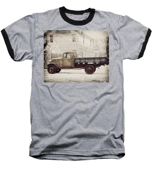 1936 Chevy High Cab -2 Baseball T-Shirt