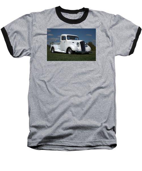 1937 Chevrolet Pickup Truck Baseball T-Shirt by Tim McCullough