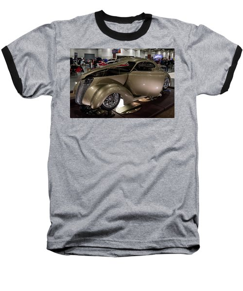 Baseball T-Shirt featuring the photograph 1937 Ford Coupe by Randy Scherkenbach