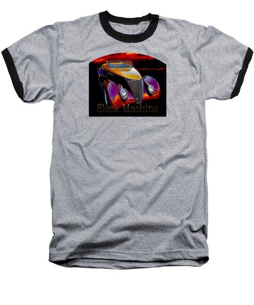 1937 Ford Custom Roadster Baseball T-Shirt