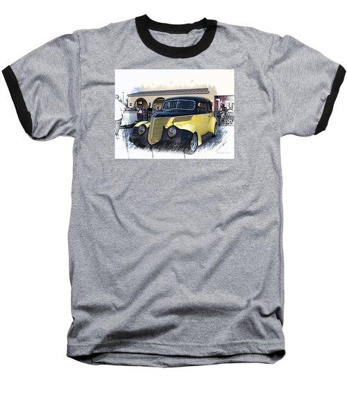 1937 Ford Deluxe Sedan_a2 Baseball T-Shirt