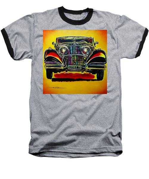 1937 Mercedes Benz First Wheel Down Baseball T-Shirt