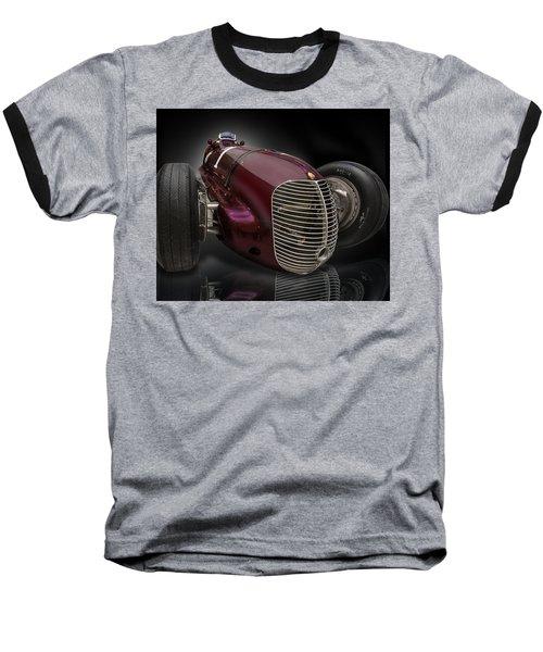 1939 Maserati 8ctf Indy Racer Baseball T-Shirt by Gary Warnimont