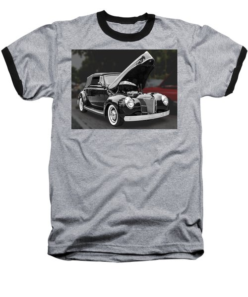 1940 Ford Deluxe Automobile Baseball T-Shirt