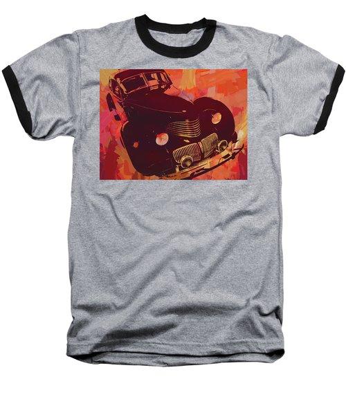 1940 Hupp Skylark Red Pop Baseball T-Shirt