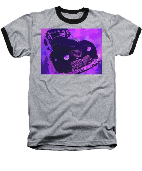 1940 Hupp Skylark Violet Pop Baseball T-Shirt