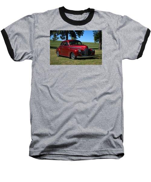 1941 Chevrolet Custom Street Rod Baseball T-Shirt by Tim McCullough