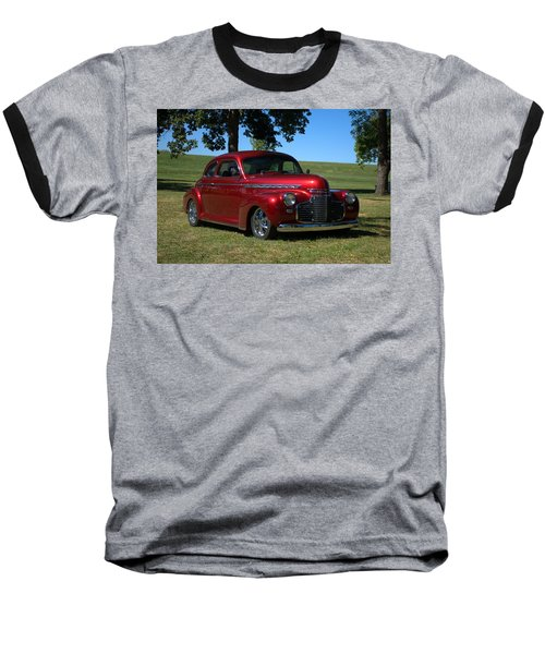 1941 Chevrolet Custom Street Rod Baseball T-Shirt