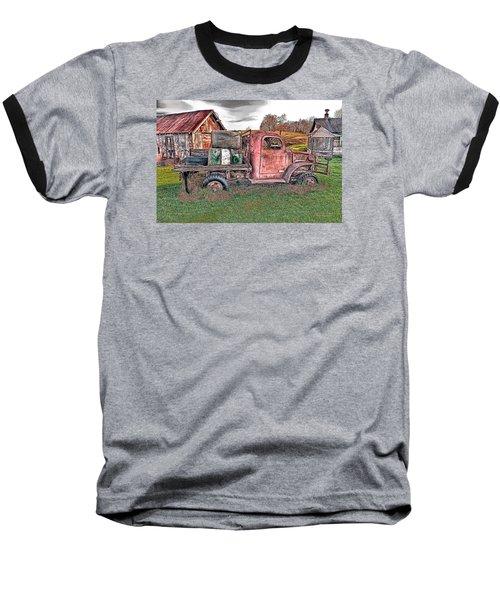 1941 Dodge Truck Baseball T-Shirt by Mark Allen