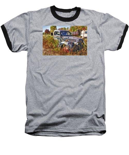 1941 Ford Truck Baseball T-Shirt by Mark Allen