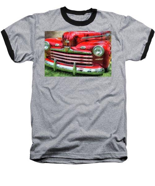 1946 Ford 2 Door Super De Luxe Coupe Baseball T-Shirt
