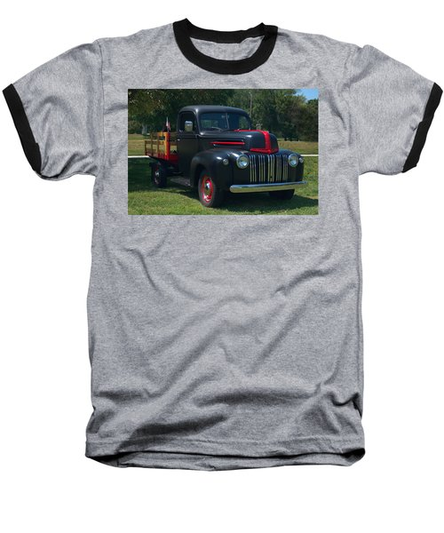 1946 Ford Stake Side Truck Baseball T-Shirt