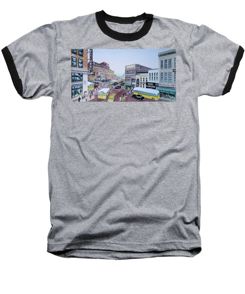 Rush Hour Portsmouth Ohio 1948 Baseball T-Shirt
