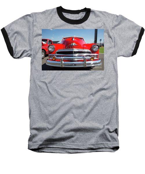 1950 Plymouth Automobile Baseball T-Shirt