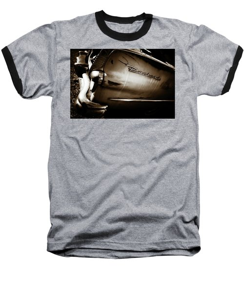 Baseball T-Shirt featuring the photograph 1950s Packard Tail by Marilyn Hunt