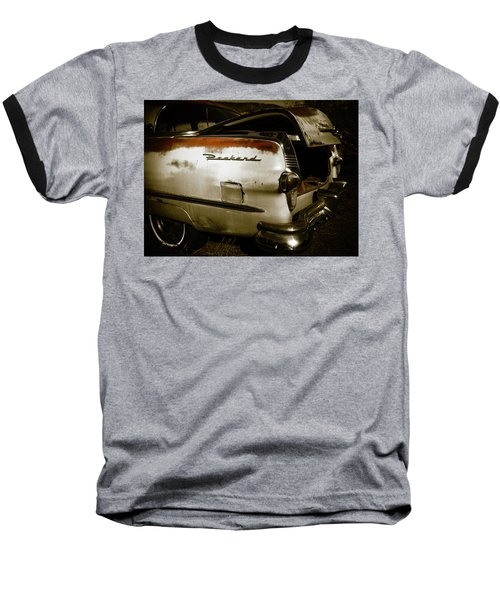 Baseball T-Shirt featuring the photograph 1950s Packard Trunk by Marilyn Hunt