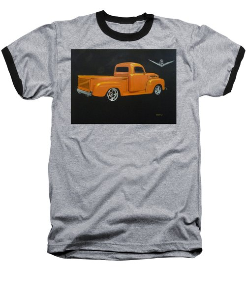 1952 Ford Pickup Custom Baseball T-Shirt