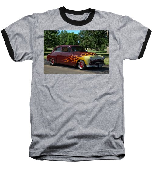 1952 Plymouth Concord Custom Baseball T-Shirt