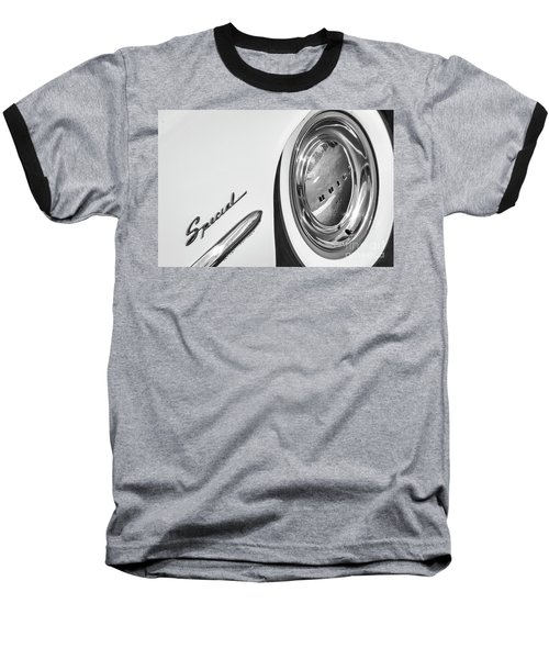 Baseball T-Shirt featuring the photograph 1953 Special Monotone by Dennis Hedberg