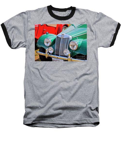 Baseball T-Shirt featuring the photograph 1954 Mg Tf Sports Car by Chris Dutton