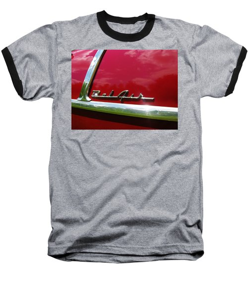 1955 Belair Baseball T-Shirt by Sherman Perry