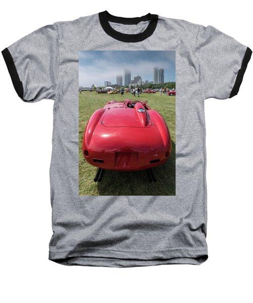 Baseball T-Shirt featuring the photograph 1956 Ferrari 290mm - 2 by Randy Scherkenbach