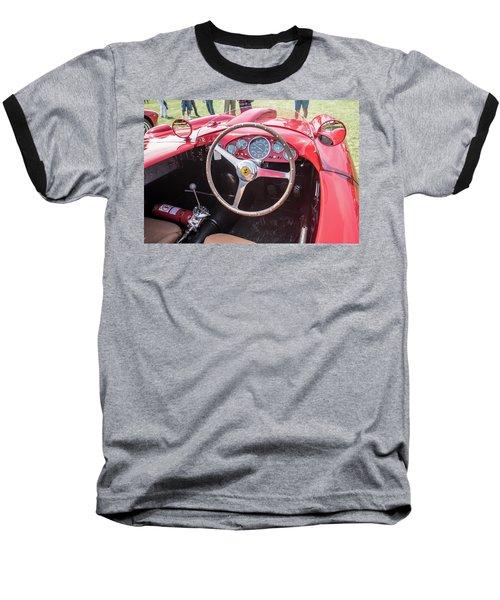 Baseball T-Shirt featuring the photograph 1956 Ferrari 290mm - 4 by Randy Scherkenbach