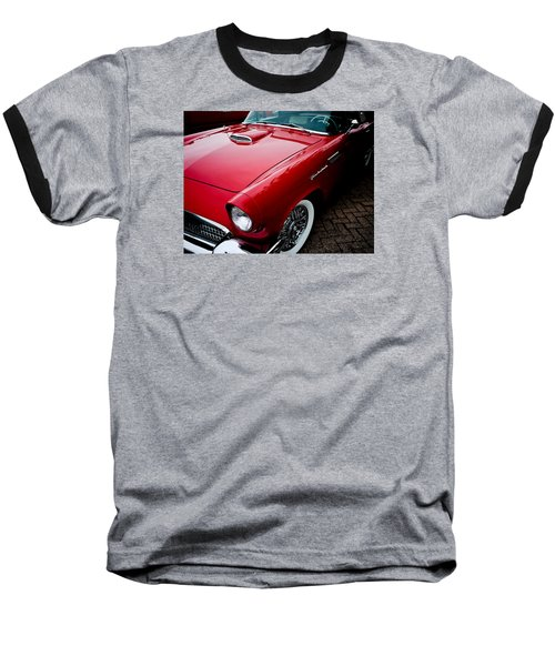 1956 Ford Thunderbird Baseball T-Shirt