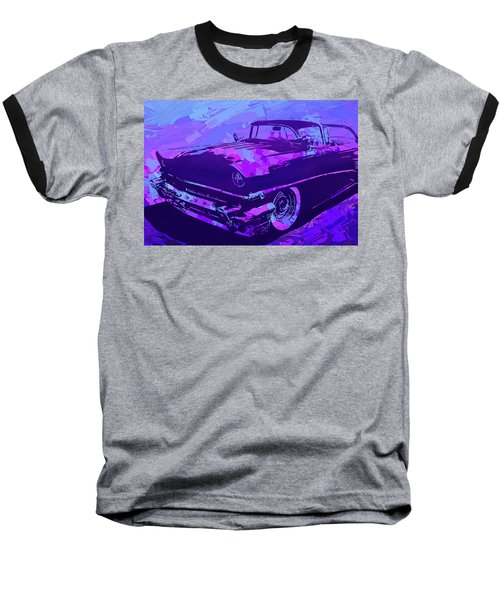 1956 Mercury Hardtop Custom Pop Violet Baseball T-Shirt