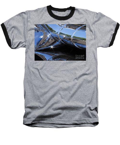 1956 Pontiac Chieftain Grill Abstract Baseball T-Shirt