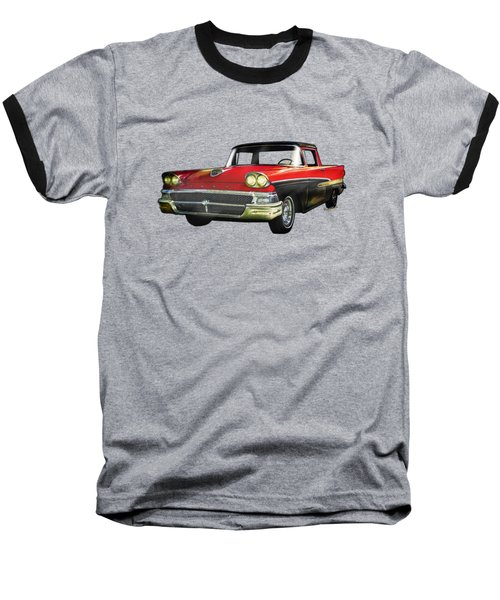 1958 Ford Ranchero 1st Generation Baseball T-Shirt
