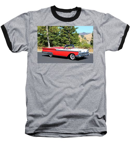 1959 Ford Fairlane 500 Baseball T-Shirt