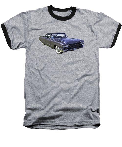 1960 Cadillac - Classic Luxury Car Baseball T-Shirt