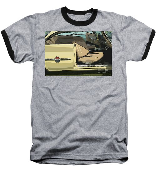 Baseball T-Shirt featuring the photograph 1960 Chrysler 300-f  Muscle Car by David Zanzinger